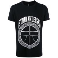 Astrid Andersen Camiseta Com Logo 'essential' - Preto