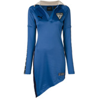 Fenty X Puma Vestido Assimétrico - Azul