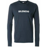Aspesi Camiseta 'silenzo' - Azul