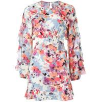 Pop Up Store Vestido Com Estampa Floral - Estampado