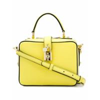 Dolce & Gabbana Bolsa Tote Modelo 'rosaria' - Amarelo E Laranja