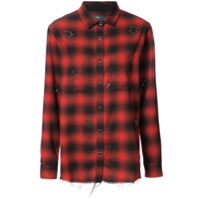 Amiri Camisa Xadrez - Vermelho