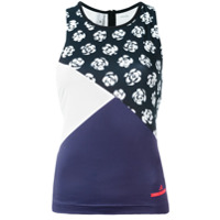 Adidas By Stella Mccartney Regata Com Estampa Floral - Preto