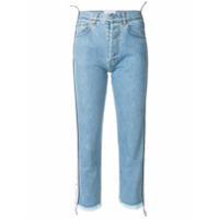 Forte Dei Marmi Couture Calça Jeans Cropped - Azul