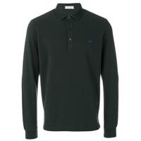 Etro Camisa Polo Com Logo - Green