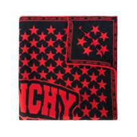 Givenchy Lenço De Seda Com Estampa - Vermelho