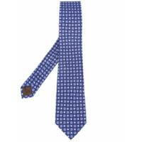 Church's Gravata De Seda Com Estampa - Azul