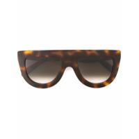 Céline Eyewear Óculos De Sol Em Acetato - Brown