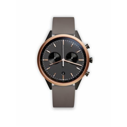 Uniform Wares Relógio analógico 'C41 Chronograph' - Grey