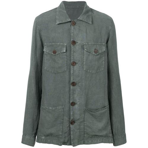 Imagem de Altea Camisa slim de linho - Green