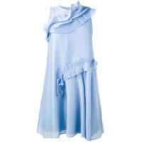 Carven Vestido Godê - Azul
