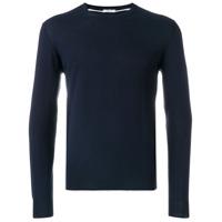 Paolo Pecora Suéter Decote Careca - Azul