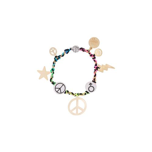 Imagem de Venessa Arizaga peace charm bracelet - Estampado