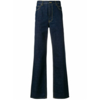 Calvin Klein 205W39Nyc Calça Jeans Flare - Azul