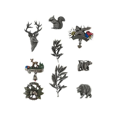 Imagem de Dsquared2 Kit com broches - Metallic