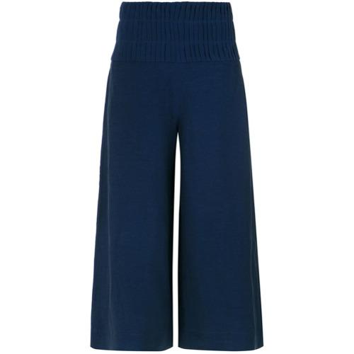 Le Lis Blanc Calça pantacourt 'Karen' - Azul