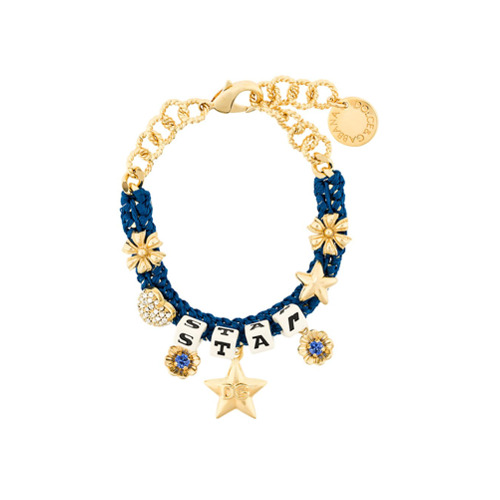 Imagem de Dolce & Gabbana Pulseira com pingentes - Azul