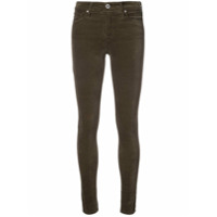 Ag Jeans Calça Jeans Skinny 'farrah' - Green
