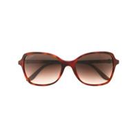 Cartier Óculos De Sol 'double C Decor' - Brown