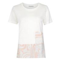 Alcaçuz Blusa 'brumado' - Branco