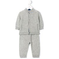 Cashmirino Conjunto De Pijama Em Cashmere - Grey
