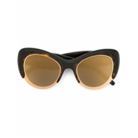 Pomellato Eyewear Óculos De Sol Gatinho - Marrom