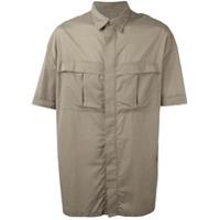 E. Tautz Camisa Com Bolsos - Nude & Neutrals