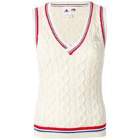 Adidas Regata De Tricot 'new York' - Branco