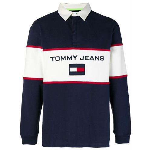 Calça jeans cropped azul em algodão , TOMMY JEANS.