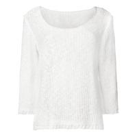 Charlott Suéter De Tricô - Branco