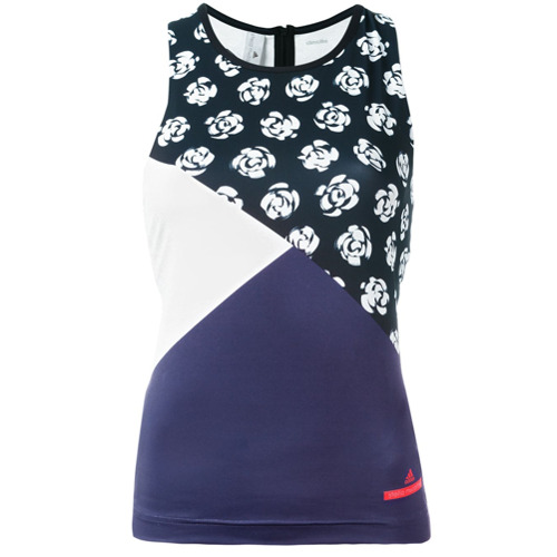 Adidas By Stella Mccartney Regata com estampa floral - Preto