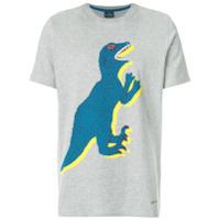 Ps By Paul Smith Camiseta Com Estampa De Dinossauro - Grey