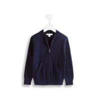 Burberry Kids Camisa Polo De Algodão - Azul