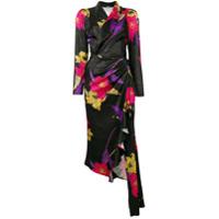 Dodo Bar Or Vestido Floral - Preto