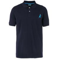 Ps By Paul Smith Camisa Polo Mangas Longas - Azul