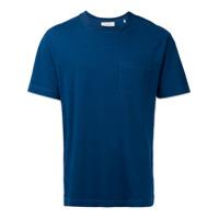 Cerruti 1881 Camiseta Com Bolso No Busto - Azul