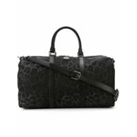 Dolce & Gabbana Mala Com Estampa Leopardo - Preto