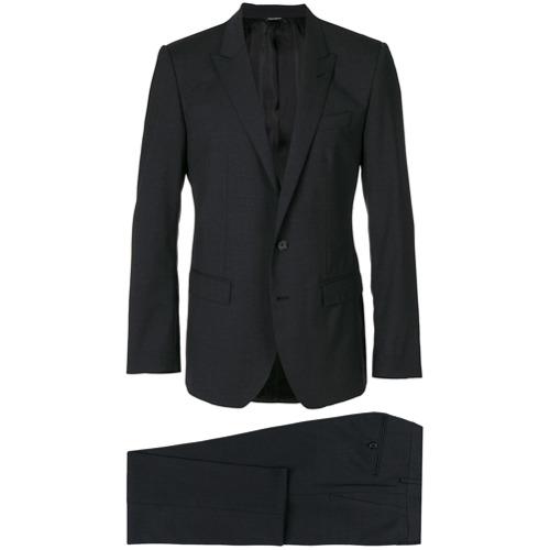 Imagem de Dolce & Gabbana Terno slim em lã mista - Grey
