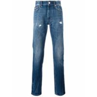 Givenchy Calça Jeans Cenoura - Azul