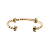 Aurelie Bidermann Bracelete Banhado A Ouro - Metallic