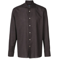 Borriello Camisa Xadrez - Marrom