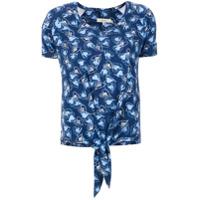 Fillity Blusa Estampada Corações - Azul