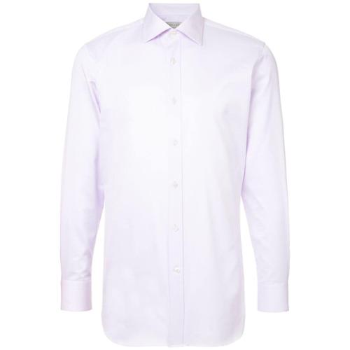 Gieves & Hawkes Camisa clássica - Pink & Purple