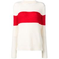 Calvin Klein Suéter Com Recorte - Branco