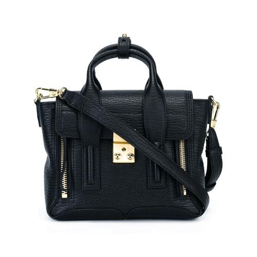 Imagem de 3.1 Phillip Lim Bolsa satchel de couro modelo 'Pashli' mini - Preto