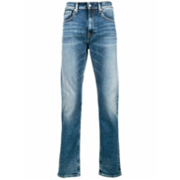Calvin Klein Jeans Calça Jeans Slim - Azul