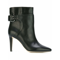 Jimmy Choo Bota Modelo 'major 85' De Couro - Preto