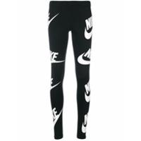 Nike Calça Legging Monogramada - Preto