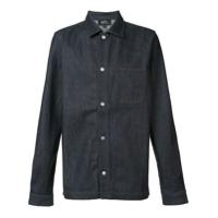 A.p.c. Camisa Com Botões - Azul