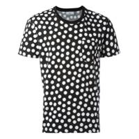 Ami Alexandre Mattiussi Camiseta Com Estampa De Poás - Preto
